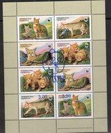 TAJIKISTAN, 2018, WWF, WILD CATS, SHEETLET WITH WWF OVERPRINT - Unused Stamps