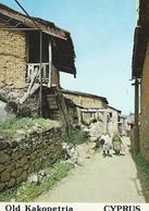 Old Kakopetria Village Scene  CYPRUS CPSM TBE - Chypre