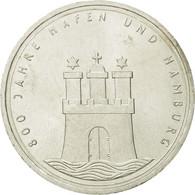 Monnaie, République Fédérale Allemande, 10 Mark, 1989, Hamburg, Germany, SUP - [ 7] 1949-…: BRD