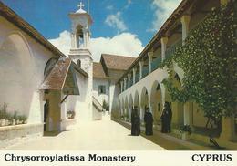 Chrysorroyiatissa Monastery Monastère CYPRUS CPSM TBE - Chypre