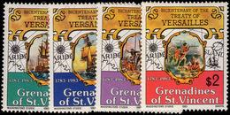 St Vincent Grenadines 1983 Treaty Of Versailles Unmounted Mint. - St.Vincent & Grenadines