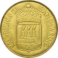 Monnaie, San Marino, 20 Lire, 1973, Rome, FDC, Aluminum-Bronze, KM:26 - Saint-Marin