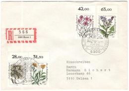 GERMANIA - GERMANY - Deutschland - ALLEMAGNE - 1983 - Für Die Wohlfahrtspflege  - FDC - Bonn - Einschreiben - Registered - BRD