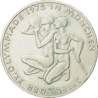 Monnaie, République Fédérale Allemande, 10 Mark, 1972, Hamburg, SPL, Argent - [ 7] 1949-…: BRD