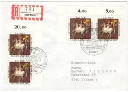 GERMANIA - GERMANY - Deutschland - ALLEMAGNE - 1983 - Tag Der Briefmarke - FDC - Bonn - Einschreiben - Registered - [7] Repubblica Federale