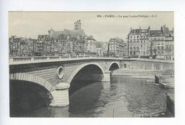 CPA Paris Le Pont Louis Philippe 958 - Ponts