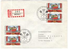 GERMANIA - GERMANY - Deutschland - ALLEMAGNE - 1983 - 450 Jahre Deutsches Reinheitsgebot Für Bier - FDC - Bonn - Einschr - FDC: Briefe
