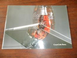 ANCIEN  LIVRET PUBL. / HISTOIRE DE COCA COLA /  34 PAGES / 1986 / DIM  21 X 29,5 CM - Coca-Cola