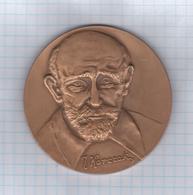 Poland Polska 1983 Krajowa Mlodziezowa Wystawa Filatelistyczna, Bydgoszcz, Janusz Korczak Jewish, Medal Medaille, 7 Cm - Other