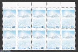 AAT - Australian Antarctic Territory - Scott #L75 MNH - Block Of 10 - Unused Stamps