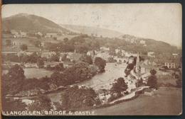 °°° 11586 - UK - GALLES - LLANGOLLEN - BRIDGE & CASTLE °°° - Denbighshire