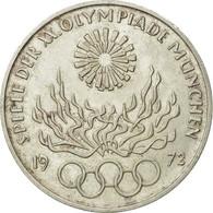 Monnaie, République Fédérale Allemande, 10 Mark, 1972, Karlsruhe, SUP - [ 7] 1949-…: BRD