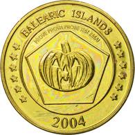 Espagne, Medal, Essai 50 Cents, 2004, SPL, Laiton - Spain