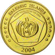 Espagne, Medal, Essai 50 Cents, 2004, SPL, Laiton - Espagne