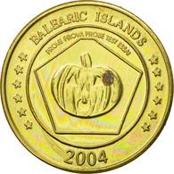 Espagne, Medal, Essai 20 Cents, 2004, SPL, Laiton - Spain