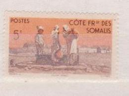 COTE DES SOMALIS       N°  YVERT  :  277   NEUF SANS  CHARNIERES      ( NSCH 02  ) - Unused Stamps
