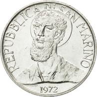 Monnaie, San Marino, 5 Lire, 1972, Rome, FDC, Aluminium, KM:16 - Saint-Marin