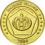 Espagne, Medal, Essai 10 Cents, 2004, SPL, Laiton - Spain