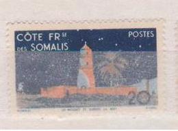 COTE DES SOMALIS       N°  YVERT  :  281  NEUF SANS  CHARNIERES      ( NSCH 02  ) - Unused Stamps