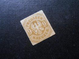 Mi 26a - 9Kr(*)UNG - Altdeutschland (Preussen)  1865 - Mi 35,00 € - Vollrandig - Preussen