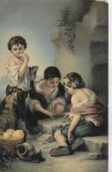 AK 0020  Murillo , Bartolomé Estéban - Die Würfelspieler / Verlag Stengel & Co Um 1910-20 - Peintures & Tableaux