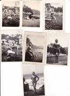 RAPALLO - SAN MICHELE - LOTTO DI 7 FOTO DEL 1955 - Lieux