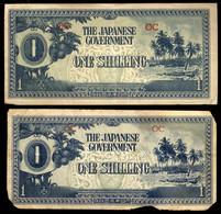 Japan  2 One Shilling Oceania ( Polynesia)  Occuation Note 1938  Crisp  UNC - Japan