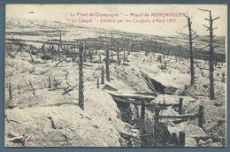 • CPA - LE FRONT DE CHAMPAGNE - Massif De MORONVILLIERS - Guerra 1914-18