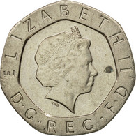Monnaie, Grande-Bretagne, Elizabeth II, 20 Pence, 2002, TTB+, Copper-nickel - 1971-… : Monnaies Décimales