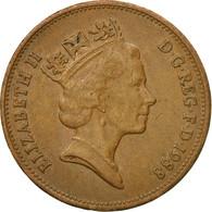 Monnaie, Grande-Bretagne, Elizabeth II, 2 Pence, 1988, British Royal Mint, TTB - 1971-… : Monnaies Décimales