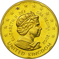 United Kingdom , Medal, Essai 20 Cents, 2002, SPL, Laiton - Royaume-Uni