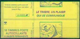 FRANCE CARNET LUQUET VARIETE N° 3085 C3 Impréssion Couverture à Cheval Nxx Rare Et Tb - Errors & Oddities