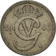 Monnaie, Suède, Gustaf V, 10 Öre, 1946, TB+, Nickel-Bronze, KM:795 - Suède