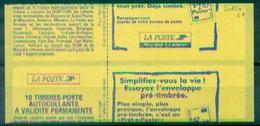 FRANCE CARNET LUQUET VARIETE N° 3085 C1 Impréssion Couverture à Cheval Nxx Rare Et Tb - Errors & Oddities