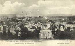 Militaria Guerre De 1914 Soissons Pendant Le Bombardement RV - Soissons