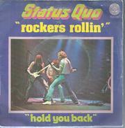 "45 Tours SP -   STATUS QUO  -  VERTIGO 6173583  "" ROCKERS ROLLIN  "" + 1 - Other - English Music"