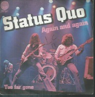 "45 Tours SP -   STATUS QUO  -  VERTIGO 6173584  "" AGAIN AND AGAIN  "" + 1 - Other - English Music"