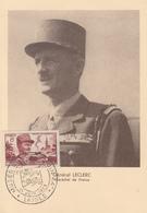Carte Maximum  1er Jour    FRANCE   Maréchal   LECLERC    LAIGLE   1953 - Cartes-Maximum