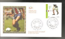 FDC 2002     COUPE DU MONDE DE FOOTBALL - FDC