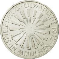 Monnaie, République Fédérale Allemande, 10 Mark, 1972, Stuttgart, SPL - [ 7] 1949-…: BRD