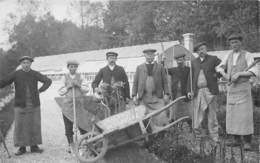 JARDINIERS DE GRAVILLE- CARTE-PHOTO (76) - Métiers