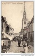 27 - Conches - Rue Ste.Foix (Carte Abîmée En Bas) - Conches-en-Ouche