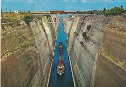 Korinthos - Der Kanal - Corinthe - L'Isthme - Corinth - The Isthmus - Greece