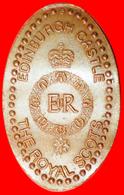 #  ELONGATED PENNY: GREAT BRITAIN ★ EDINBURGH CASTLE THE ROYAL SCOTS! LOW START ★ NO RESERVE! - Elongated Coins
