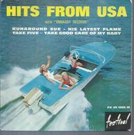 "45 Tours EP -  PAUL RICH / BOBBY STEVENS -  FESTIVAL 1285  -   "" RUNAROUD SUE  "" +  3 - Other - English Music"