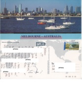 Australia - Viewed From Across The Bay Barche Yacht Grattacieli - Melbourne