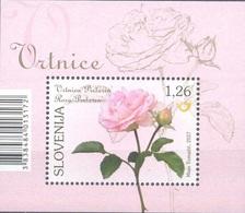 SI 2017-05 FLOWERS ROSES, SLOVENIA, S/S, MNH - Rosen