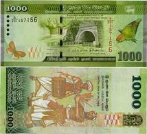 SRI LANKA        1000 Rupees       P-127c       4.2.2015     UNC - Sri Lanka