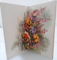 Illustrateur T Jeanne LAGARDE - Carte POP-UP ; Bonne Fête Maman: Fleurs - Illustrators & Photographers