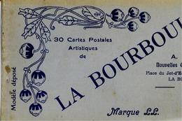 62 LA BOURBOULE - Album Carnet 24 Cartes Postales Artistiques - La Bourboule